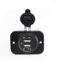 50PCS/LOT Car Motorcycle Truck Cigarette Lighter Power Plug Socket 12V