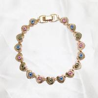 Wholesale Top Quality Brand Jewelry Evil Eye Women Jewellery Gold Bracelet Accessories 2014 Latest!