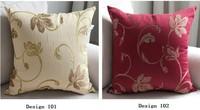 flower jacquard 45x45cm  fashion style sofa decoration car living room chair back pillow cushion cover