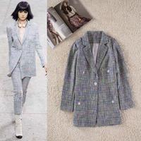2014 Autumn New Brand Women Casual Blazer Women Formal Suit Business Work Wear Women Clothes Jaqueta Feminina Free Ship W5264