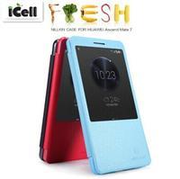Original Nillkin Fresh Series Auto Sleep Wake Up Flip Leather Case For Huawei Ascend Mate 7 ,+Retail Box MOQ:1PCS Free shipping