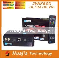 1pc Original JynxBox Ultra HD V5 Plus Satellite Receiver +1080p Full HD+8PSK+Wifi Jynxbox V5+ for America market HOT SELL