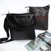 NEW Arrival Men Handbag Shoulder Bag Men's Messenger PU Leather  Bags Black / Brown Color