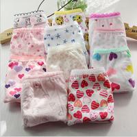 New 12 Pack Cotton Baby Girl Print Underwear
