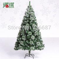 180 cm mixed with white pine needles  Christmas tree
