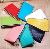 South Korea's hot new creative zero wallet Pu cortex pure trumpet key bag coin bag wholesale