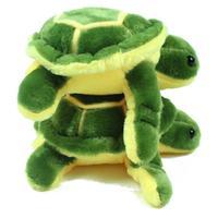 1 pieces Stuffed Tortoise doll Plush toys Cartoon dolls Turtle wedding gift Green