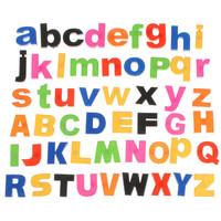 Magnetic Capital Lowercase Alphabet Educational Toy 52 Pcs