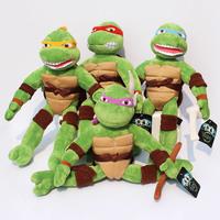 Free shipping 40cm New TMNT the Teenage Mutant Ninja Turtles Plush Toys Movies & TV Toys High Quality