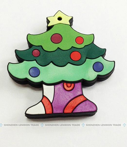 NEW ARRIVAL! Merry Christmas Tree USB Flash Drive 2GB 4GB 8GB 16GB 32GB 64GB Memory Stick USB 2.0 Pen Drive/Gift-Free Shipping(China (Mainland))