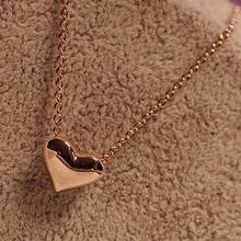2014 Fashion Women Gold Heart Bib Statement Chain Pendant Necklace Jewelry Snow