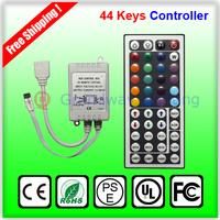 44 keys IR Remote+ Controller 12V RGB infrared ray controller RGB Led Strip controller  Grandway Lighting
