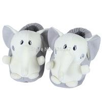 Plush USB Foot Warmer Shoes  Soft Electric Heating Slipper Cute Elephant Chopper  Many colors