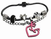 Free Ship Snake Chain 20CM Browning Deer Link Bracelets 1PCS Charm BEADS Europe Bracelet