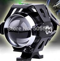 IP68 Waterproof 12v-80v Cree 30W Led Motorcycle lighting Motor E-bike day racing spotlight headlight Strobe flash Fog lamp