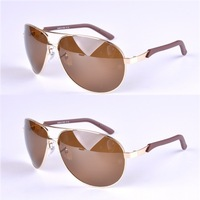 New arriving 2014 sun glasses rb3387 male women  green , brown and gradient  glass lens  driving sunglasses