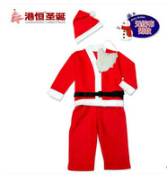 Free Shipping! Wholesale boy child Christmas non-woven suit Home Garden Festive Party Christmas Decoration