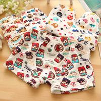 New 12 Pack Cotton Baby Boy Box Cartoon Print Underwear