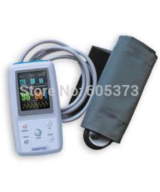 Free ship 24-hours record Oscillometry sphygmomanometer SYS/DIA/MAP/PR USB PC analysis software Digital Blood Pressure Monitor(China (Mainland))
