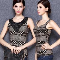 2014 winter  fashion soft warm lining sex slim top body building women strap body shaper factory wholesale plus size XL XXL XXXL