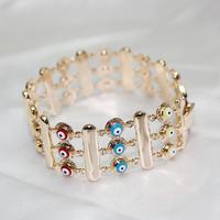 Wholesale top quality evil eye bracelet women's brand jewelry 2014 new arrivals