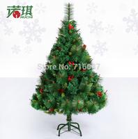 120 cm luxury encryption red pinecone crabapple  Christmas tree