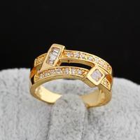 2014 Latest Design Men Jewelry 18K White Gold Plated Black Enamel woman Fashion Ring