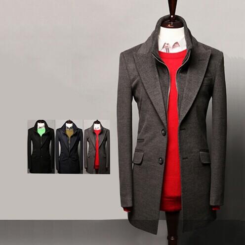 [해외]Mens Suit Blazer Terno Masculino Slim Fit Blazers ..