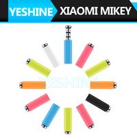 Original XiaoMi Mikey Mi Key Smart Button 3.5MM Earphone Jack dust Plug For Xiaomi  Earphone Jack Plug