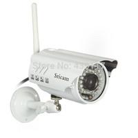Free shipping Sricam AP009 720P HD IP Camera Wifi Outdoor Motion Detection Video Bullet Waterproof Outdoor IR-CUT Wifi IP Camera