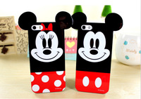 silicon Cell Phone Case Minnie mobile phone cartoon soft Cover For Iphone 6 4.7 cases housing