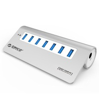 ORICO M3H7 seven port 7-port USB3.0 HUB with power adapter Transfer up 5Gbps,USB HUB