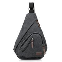 Hot Sale Fashion Men Travel Bags Canvas Cross Body Messenger Bag For Men Coffee / Gray / Kihaki / Green Color
