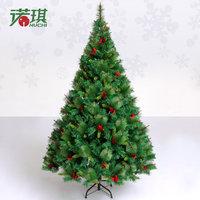 1.5 meters luxury encryption red pinecone crabapple Christmas tree