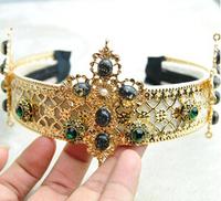 Free shipping European and American Baroque  Crown Royal bridal hair accessories hair bands,hairband fir woman,hair accessories