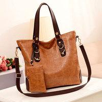 Newest European Women Bag Set Fashion Handbag Stone Grain Women's Shoulder Bags Cross-body Messenger Bag Bolsas N1106