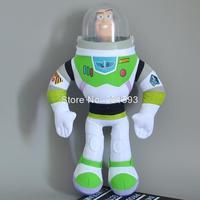 "Toy Story 3 Buzz Light Year Plush Toys Plastic Toys Dolls 12"" 30CM Free shipping"