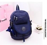 2014 new lovely kippling backpack children mochila kippling school bag classics printing backpacks small backpack bag
