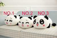 35cm super cute soft stuffed lying panda toy doll, plush panda pillow toy,creative graduation&birthday gift for children,1pc
