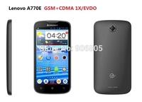Free shipping Original new Lenovo A770E GSM+CDMA EVDO Android smart phone CDMA 2000 1X