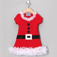 2014 Summer New Baby Girls Christmas Dress KIds Party Fashion Dress Wholesale