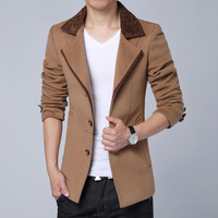 FAshion Men's trench Jackets XXXL winter new men's casual men's Slim temperament coat male coat DY-427 quality blaser