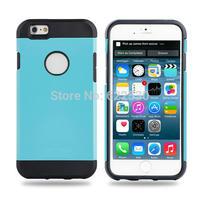 IMPRUE dual colors tough Armor TPU+PC protector case for Iphone6(4.7)