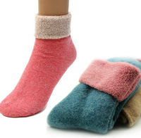 Cheaper  Winter warm socks women fashion sock  lady's rabbit wool socks