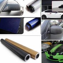 "60"" x 24"" 3D Carbon Fiber Film Car Vinyl Wrap Vehicle Sticker Sheet Roll Black Blue Silver Waterproof(China (Mainland))"