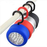 24 LED White Working Flashlight Magnetic Hook Hanging Camping Light