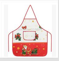 Free Shipping!! New Arrival Cheap Santa Claus Christmas Design Flame Retardant Excellent  Kitchen, Cooking Apron, Cozinha