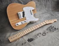 DIY Electric Guitar Kit  VintageTelecaster Style With Alder Body And Maple Neck Fingerboard Luthier Builder Kit