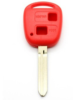 Red Color Replacement Housing Shell Remote Key Case Fob 2 Button For TOYOTA CAMRY CELICA COLORADO RAV 4 PICNIC PRIUS