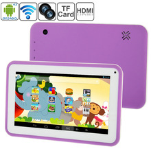 C21 ATM7021A Dual Core 1.2GHz 512MB + 4GB 7.0 inch Capacitive Touch Screen Kids Education Android 4.2 Tablet PC, Dual Cameras